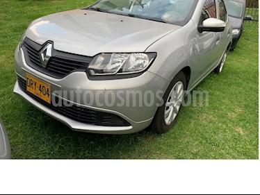 Renault Logan Life   usado (2019) color Gris Estrella precio $32.499.999