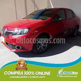 Renault Logan 1.6 Expression AA Mec 4P usado (2019) color Rojo precio $30.990.000