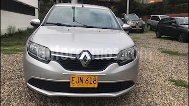 Renault Logan Expression usado (2018) color Gris Estrella precio $32.700.000