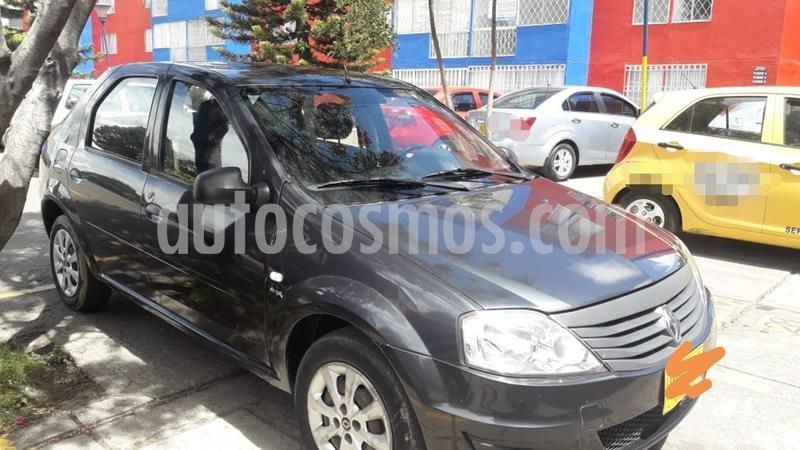 Renault Logan Familier usado (2015) color Gris Cometa precio $19.000.000