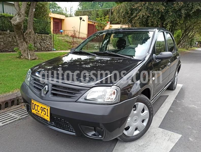Renault Logan 1.4L Familier Ac usado (2009) color Negro precio $17.500.000