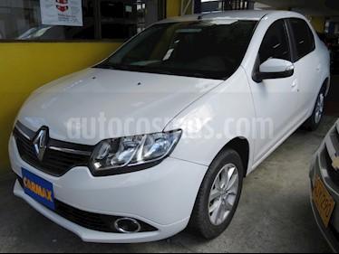 Renault Logan Privilege usado (2016) color Blanco precio $33.900.000