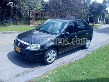 Renault Logan 1.6 Expression AA Mec 4P usado (2012) color Negro precio $20.900.000
