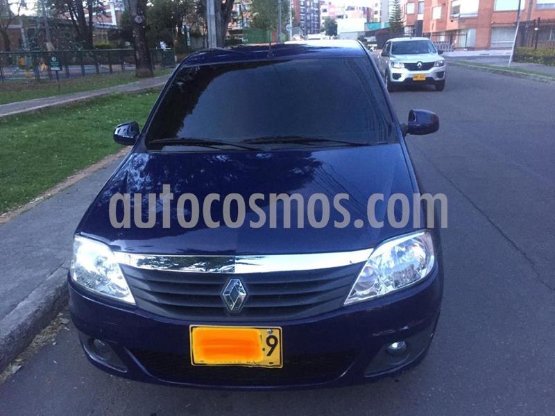 Renault Logan 1.6L Dynamique usado (2012) color Azul Navy precio $21.500.000