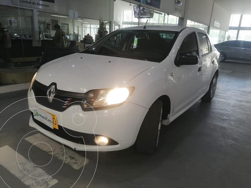 Renault Logan Authentique usado (2016) color Blanco Artico precio $25.990.000