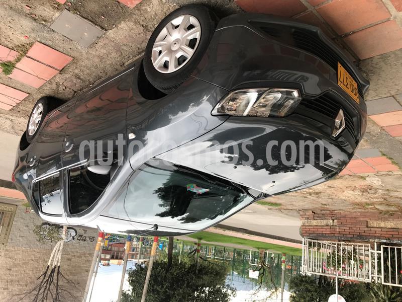 Renault Logan Life  usado (2018) color Gris Cometa precio $28.500.000