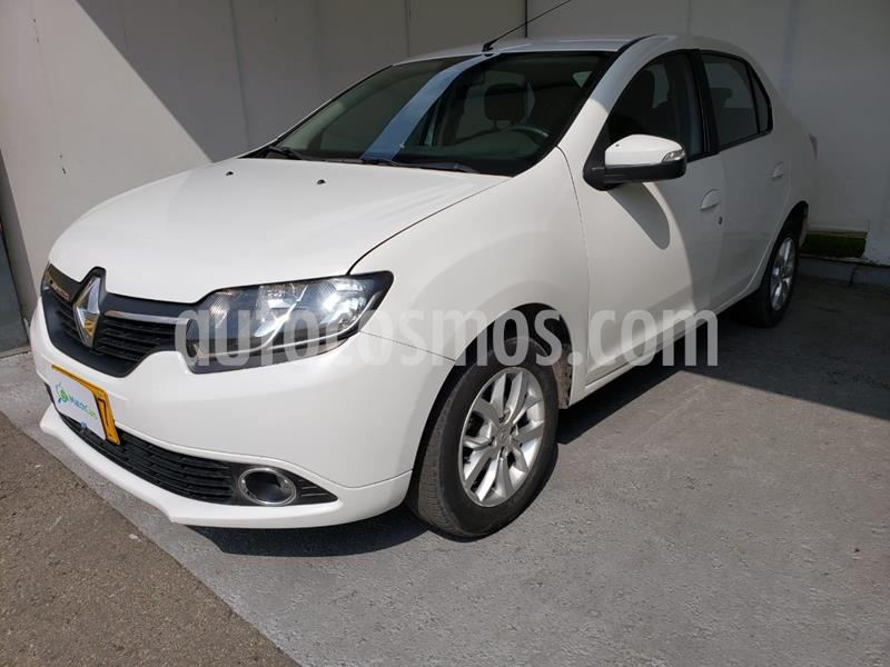 Renault Logan Privilege usado (2016) color Blanco Artico precio $24.990.000