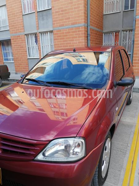 Renault Logan 1.6 Dynamique AA Mec 4P usado (2008) color Rojo precio $15.500.000