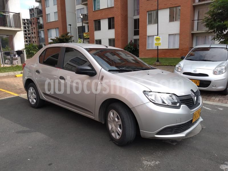 Renault Logan Authentique usado (2018) color Gris Cometa precio $25.500.000