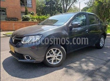 Renault Logan Privilege Aut usado (2016) color Gris precio $30.500.000