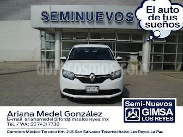 Foto venta Auto usado Renault Logan Dynamique (2018) color Blanco precio $152,000