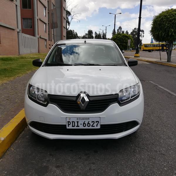 Renault Logan 1.6L Life usado (2019) color Blanco precio u$s12.300