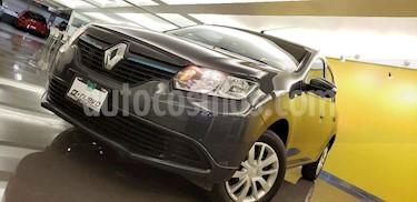 Foto venta Auto usado Renault Logan Expression Aut (2017) color Gris precio $155,000