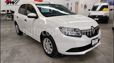 Foto venta Auto usado Renault Logan Expression Aut (2017) color Blanco Glaciar precio $149,000