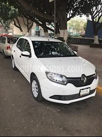 Renault Logan Expression Aut usado (2016) color Blanco Glaciar precio $139,000