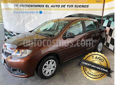 Foto venta Auto Seminuevo Renault Logan Expression (2015) color Cafe precio $132,000