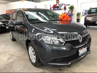 Renault Logan Expression usado (2017) color Gris precio $149,000