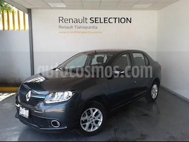 Renault Logan Intens usado (2018) color Gris Cometa precio $196,600
