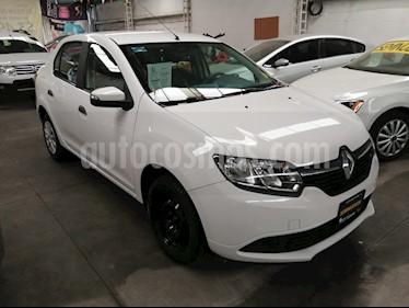 Renault Logan Expression Aut usado (2016) color Blanco Glaciar precio $100,000
