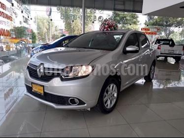 Renault Logan 4P DYNAMIQUE L4/1.6 MAN usado (2016) color Plata precio $118,400