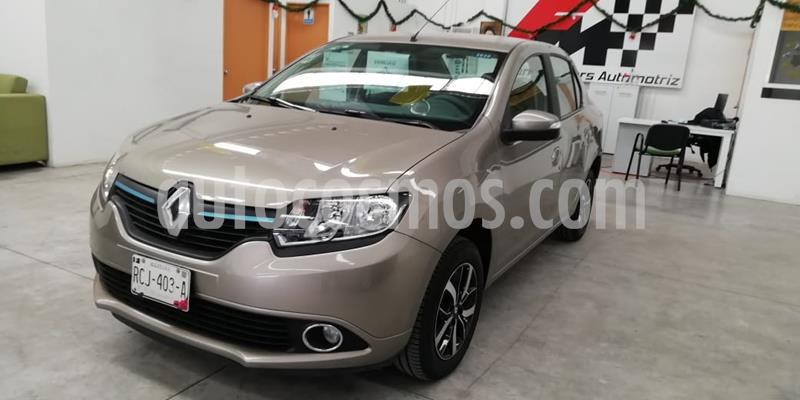 Renault Logan Intens Aut usado (2018) color Beige Arena precio $175,000
