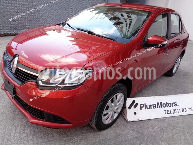 Renault Logan Zen usado (2018) color Rojo precio $139,000