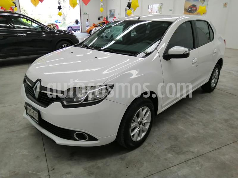 Renault Logan Dynamique Aut usado (2017) color Blanco precio $165,000