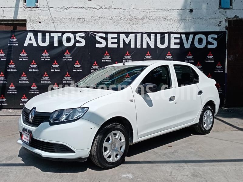 Renault Logan Life usado (2018) color Blanco Glaciar precio $125,000