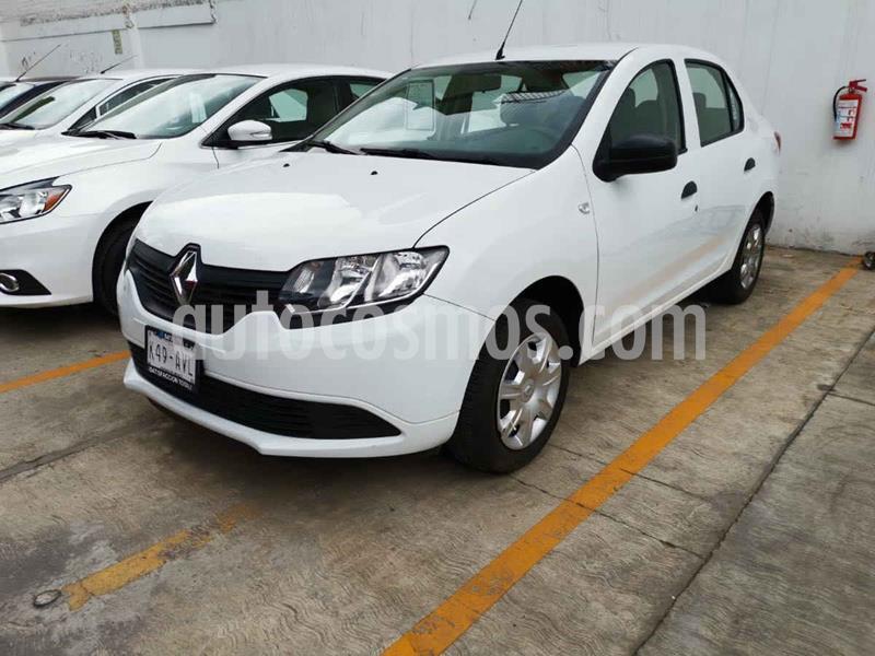 Renault Logan Life usado (2018) color Blanco precio $145,000