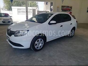 Renault Logan Expression usado (2017) color Blanco precio $130,000
