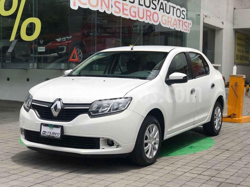 Renault Logan Expression usado (2016) color Blanco precio $135,000