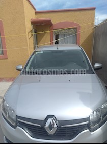 Renault Logan Authentique usado (2015) color Plata precio $95,000