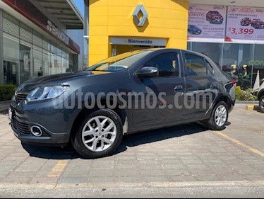 Renault Logan Intens Aut usado (2018) color Gris Cometa precio $175,000