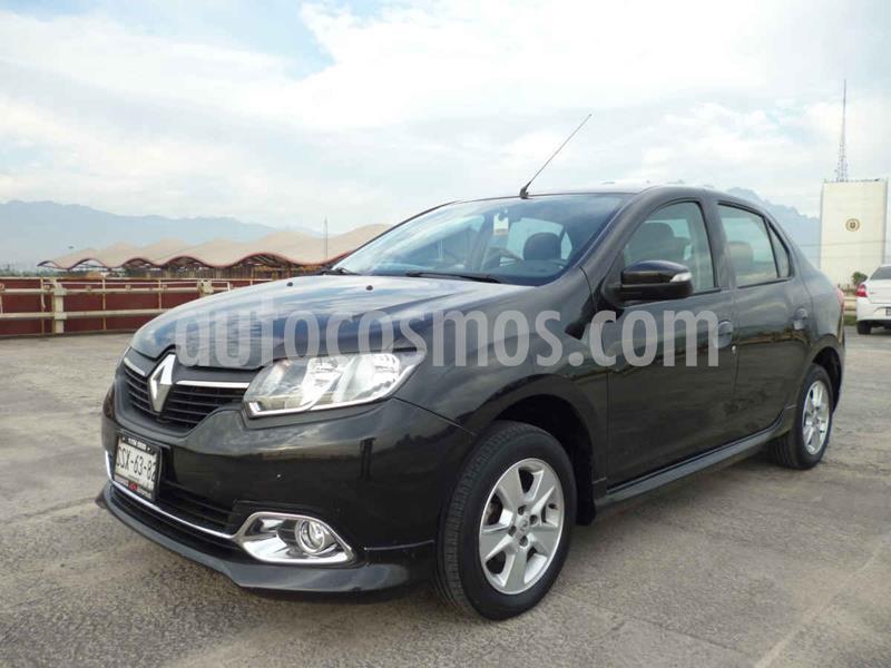 Renault Logan Expression usado (2015) color Negro precio $105,000