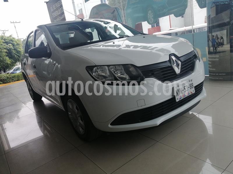 Renault Logan Life usado (2018) color Blanco precio $138,000