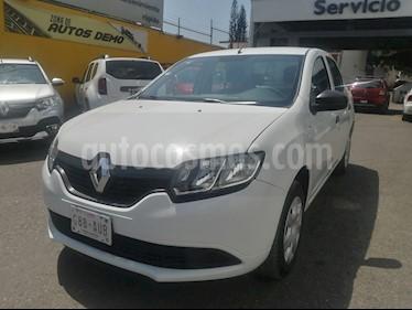 Renault Logan Life usado (2018) color Blanco Glaciar precio $145,000