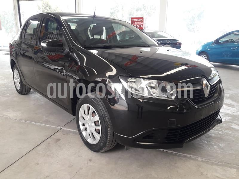Renault Logan Expression usado (2017) color Negro precio $138,000