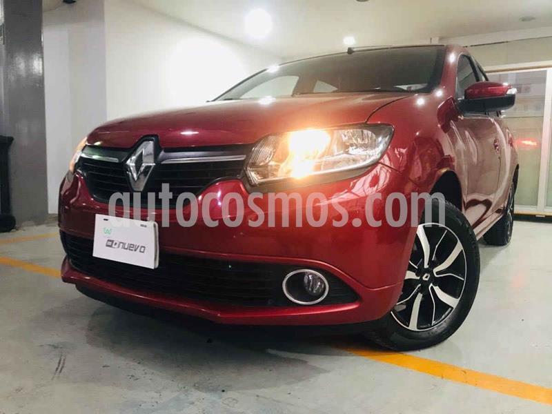 Renault Logan Intens Aut usado (2018) color Rojo precio $164,000