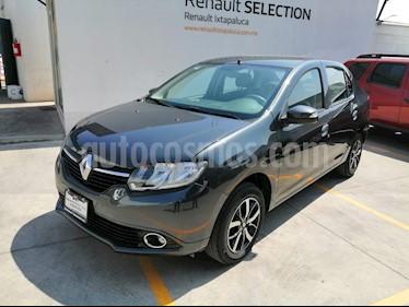 Renault Logan Intens Aut usado (2019) color Gris Cometa precio $190,000