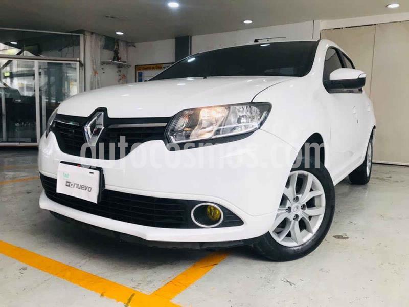 Renault Logan Dynamique usado (2017) color Blanco precio $147,000