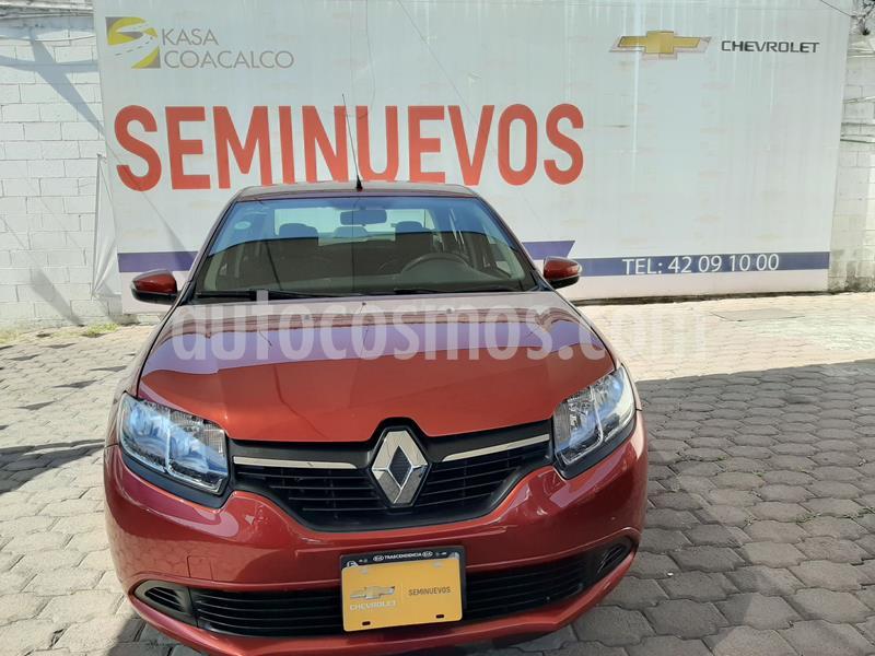 Renault Logan Expression usado (2017) color Rojo precio $135,000