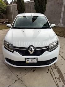 Renault Logan Expression usado (2015) color Blanco precio $95,500