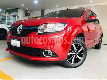 Renault Logan 4p Intens L4/1.6 Aut usado (2019) color Rojo precio $185,400