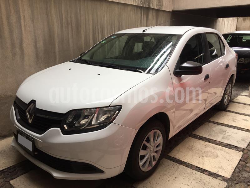 Renault Logan Zen usado (2018) color Blanco Glaciar precio $120,000