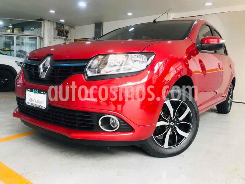 Renault Logan Intens Aut usado (2019) color Rojo precio $184,000