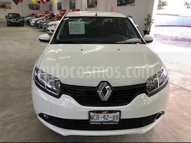 Renault Logan Intens usado (2018) color Blanco Glaciar precio $169,000