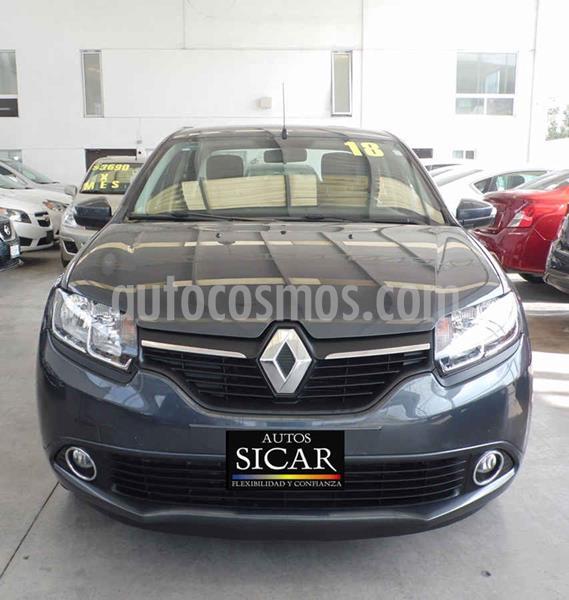 Renault Logan Intens Aut usado (2018) color Gris precio $159,000