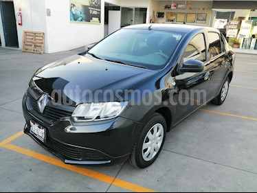 Renault Logan Authentique usado (2016) color Negro Nacarado precio $120,000