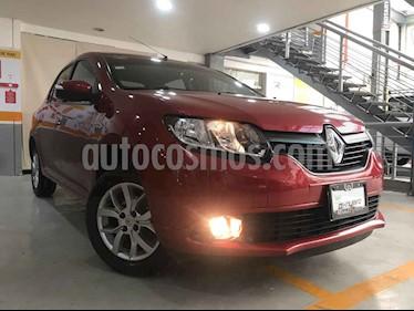 Renault Logan 4p Dynamique L4/1.6/T Man usado (2017) color Rojo precio $159,000