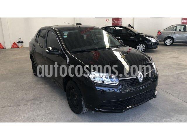 Renault Logan Expression usado (2017) color Negro precio $140,000